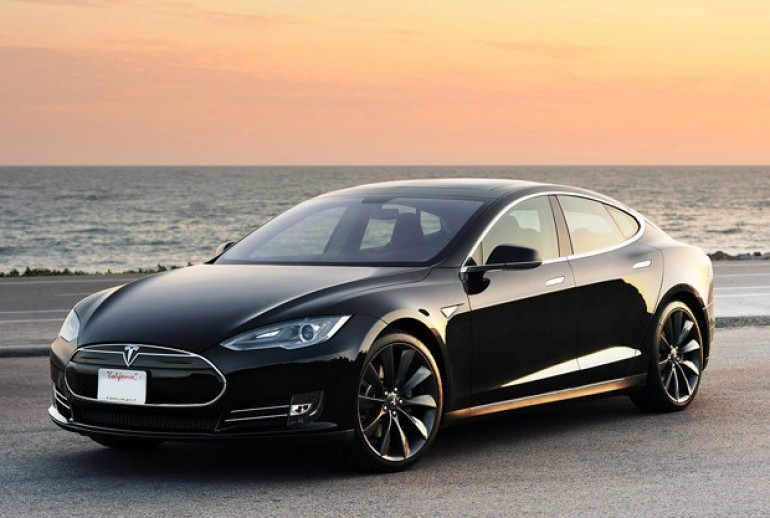 Tesla Model S Exec Saloon is this the shape of EV