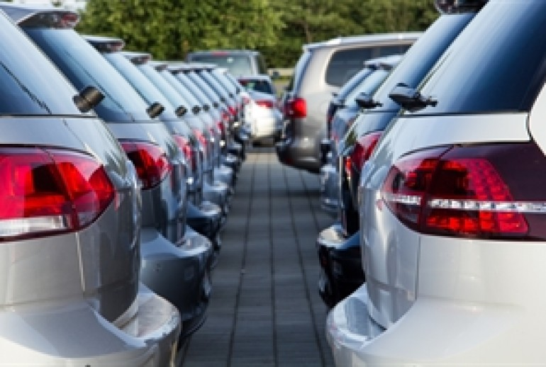 The number of new cars registered has risen every month since March 2012